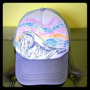 Patagonia snap back interstate hat